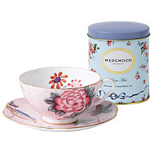 Buy Wedgwood Cuckoo Teacup and Saucer, Pink Online at johnlewis.com