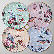 Buy Wedgwood Cuckoo Tea Plates, Multi, Set of 4 Online at johnlewis.com