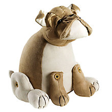 Buy Dora Designs Bulldog Suedette Doorstop Online at johnlewis.com