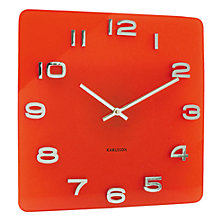 Buy Karlsson Vintage Glass Wall Clock Online at johnlewis.com