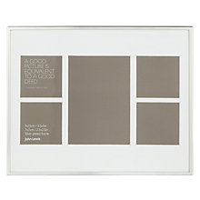 "Buy John Lewis Daya Multi-aperture Frame, 5 Photo, 2.5 x 2.5"" (6 x 6cm) and 5 x 3"" (13 x 8cm) Online at johnlewis.com"