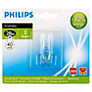 Philips 28W G9 Eco Classic Halogen Bulb, Clear