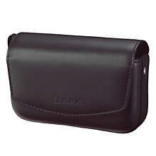Buy Panasonic DMW-PHH13XEK Leather Camera Case for LUMIX TZ Series Online at johnlewis.com