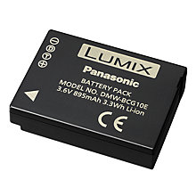 Buy Panasonic DMW-BCG10E Rechargeable Digital Camera Battery Online at johnlewis.com