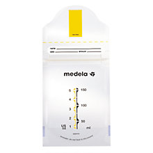 Buy Medela Pump and Save Freeze Bags x20 Online at johnlewis.com