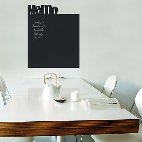 Buy Memo Chalkboard Wall Sticker Online at johnlewis.com