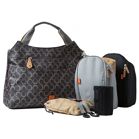 Buy PacaPod Napier Changing Bag, Black/Charcoal Online at johnlewis.com