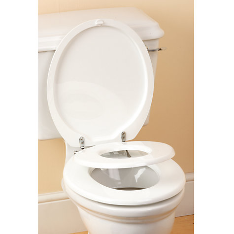 Buy The Family Seat Toilet Seat, White Online at johnlewis.com