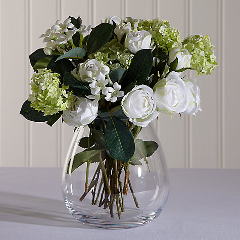 Buy LSA Flower Posy Vase, H17cm Online at johnlewis.com