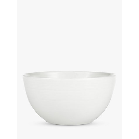 Buy John Lewis Croft Collection Luna Dessert Bowl, White Online at johnlewis.com