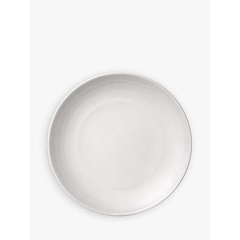 Buy John Lewis Luna Tea Plate, DIa.16cm, White Online at johnlewis.com