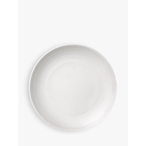 Buy John Lewis Croft Collection Luna Tea Plate, DIa.16cm, White Online at johnlewis.com