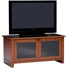 Buy Novia 8424/NC Television Stand for TVs up to 47-inch, Cocoa Online at johnlewis.com