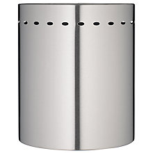 Buy John Lewis Waste Paper Bin, Stainless Steel, Online at johnlewis.com
