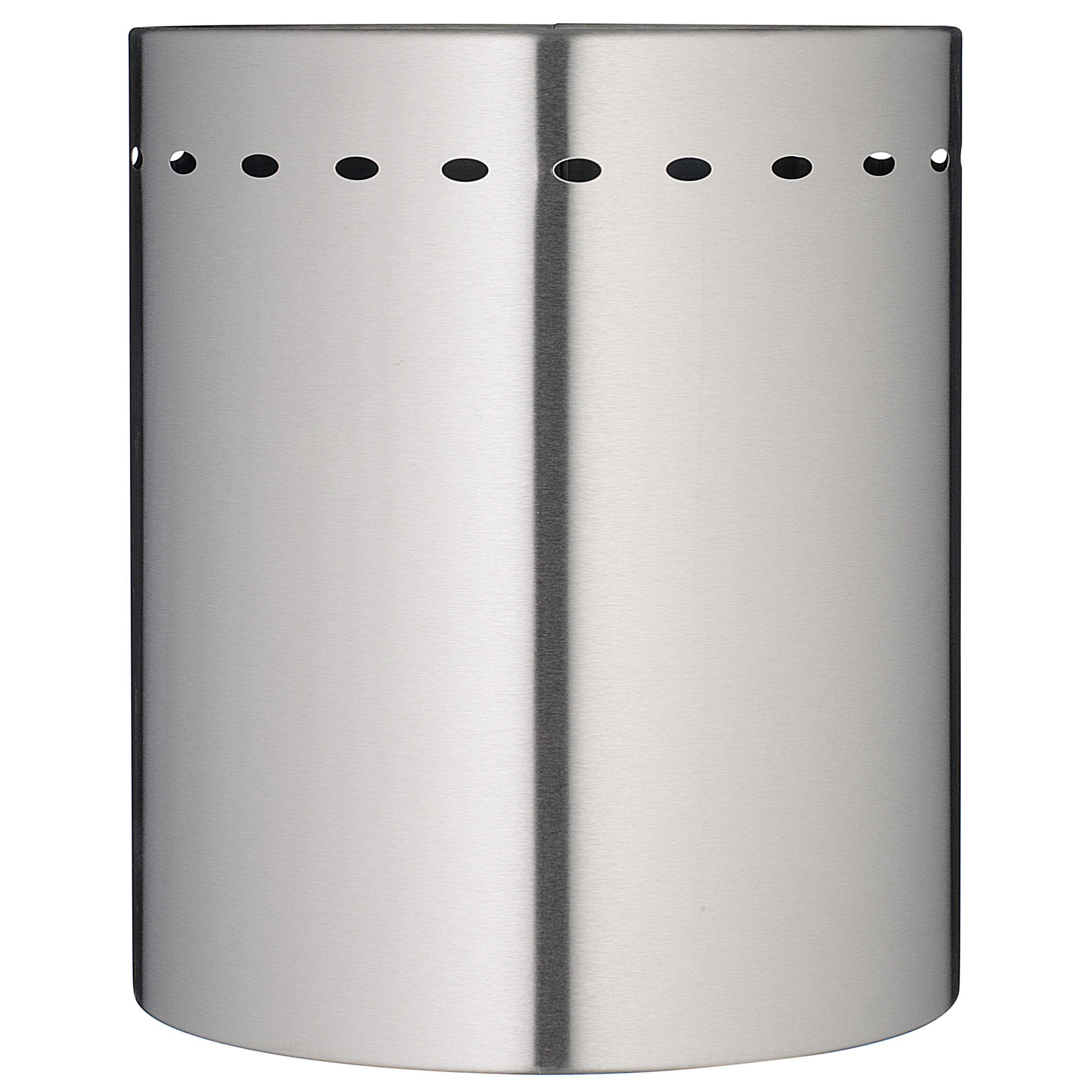 John Lewis Waste Paper Bin, Stainless Steel,