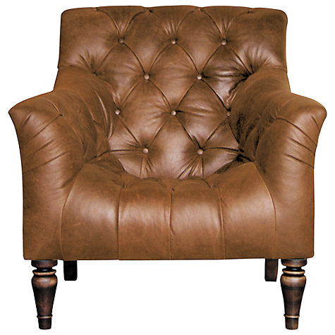 Buy John Lewis Stirling Leather Armchair, Ranch Tan Online at johnlewis.com
