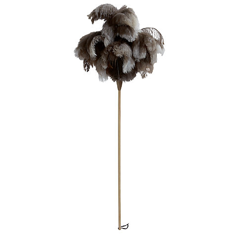 Buy Wooden Feather Duster Online at johnlewis.com