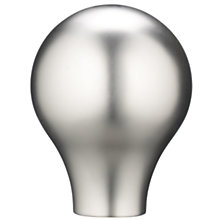 Buy John Lewis Nickel Effect Teardrop Finial, Dia.30mm Online at johnlewis.com