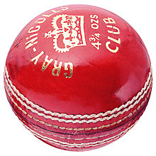 Buy Gray-Nicolls Club Cricket Ball Online at johnlewis.com