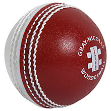 Buy Gray-Nicolls Wonderball Swing Junior Practice Cricket Ball Online at johnlewis.com