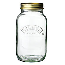 Buy Kilner Storage Jar 1L Online at johnlewis.com