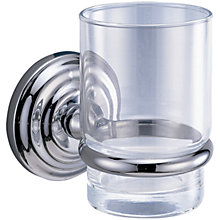 Buy John Lewis Oxford Tumbler and Holder Online at johnlewis.com