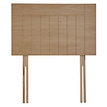 Buy John Lewis Kent Headboard, Beech, Single Online at johnlewis.com
