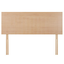 Buy John Lewis Kent Headboard, Beech, Double Online at johnlewis.com