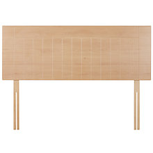 Buy John Lewis Kent Headboard, Beech, Kingsize Online at johnlewis.com