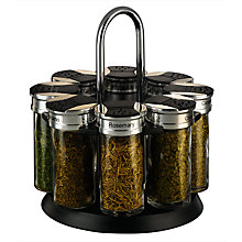 Buy John Lewis 8 Jar Spice Rack Online at johnlewis.com
