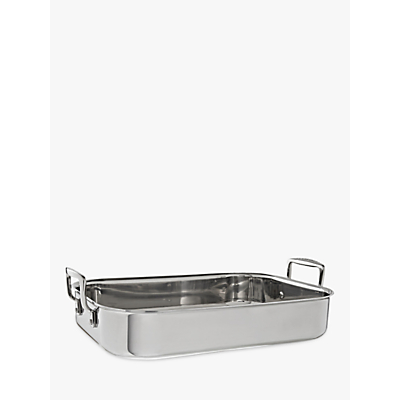 Le Creuset 3-Ply Stainless Steel Roaster, L35 x W25cm