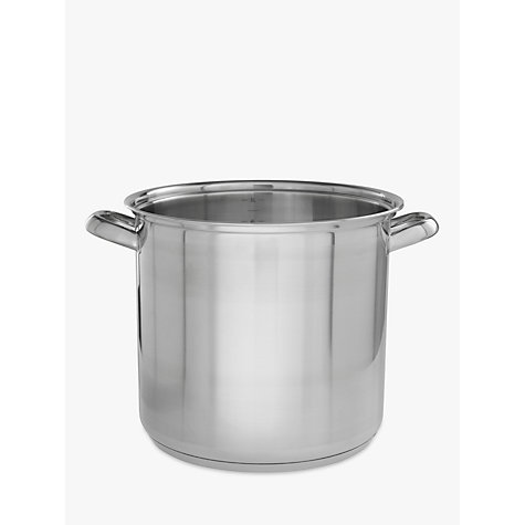 Buy John Lewis Classic Stockpot, 26cm, 11L Online at johnlewis.com