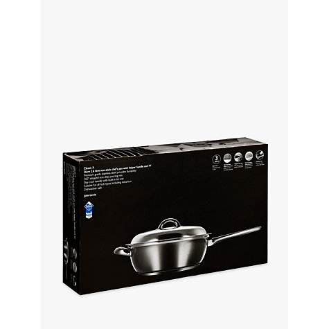 Buy John Lewis Classic II Chef's Pan and Lid, 26cm Online at johnlewis.com