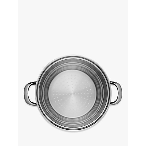 Buy John Lewis Classic II Universal Steamer and Lid Online at johnlewis.com
