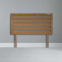 Buy John Lewis Fawley Headboard, Oak, Kingsize Online at johnlewis.com