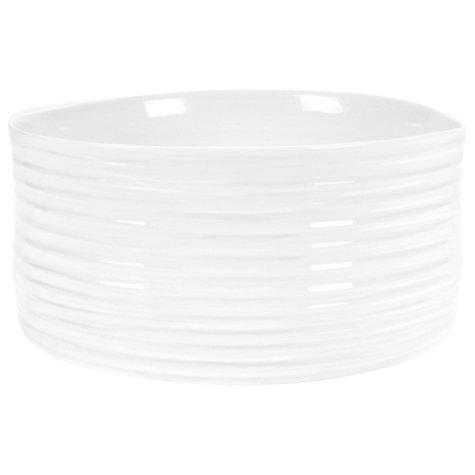Buy Sophie Conran for Portmeirion Creme Souffle Dish, White, Dia.19.5cm Online at johnlewis.com