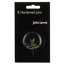 Buy John Lewis Hardened Picture Pins, Pack of 8 Online at johnlewis.com
