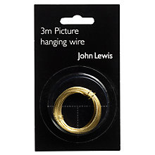 Buy John Lewis Picture Hanging Wire, 3m Online at johnlewis.com