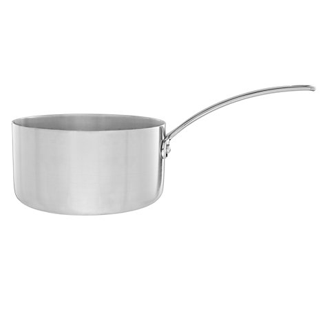 Buy John Lewis Triply Lidded Saucepans Online at johnlewis.com