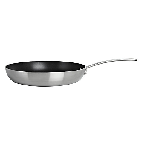 Buy John Lewis 3-Ply Nonstick Frying Pan, 28cm Online at johnlewis.com
