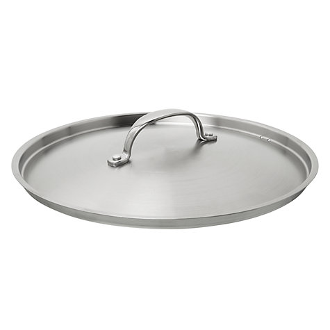 Buy John Lewis 3-ply Nonstick Lidded Sauté Pan, 24cm Online at johnlewis.com