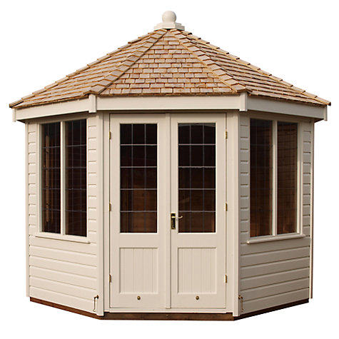 Buy Crane Round Pavilion Summerhouse, 3 x 3m Online at johnlewis.com