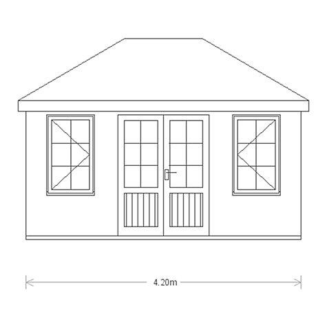 Buy Crane 3 0 X 4 2m Garden Room Fsc Certified