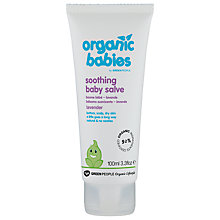 Buy Organic Babies Soothing Baby Salve, Lavender, 100ml Online at johnlewis.com