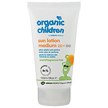 Buy Organic Children SPF25 Sun Lotion Online at johnlewis.com