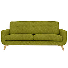 Buy John Lewis Barbican Large Sofa, Cossette / Light Leg Online at johnlewis.com
