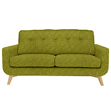 Buy John Lewis Barbican Medium Sofa with Light Legs, Henley Olive Online at johnlewis.com