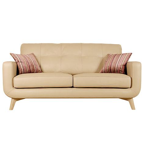 Buy John Lewis Barbican Medium 2 Seater Leather Sofa