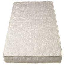 Buy John Lewis Spring Large Cotbed Mattress, L132 x W77cm Online at johnlewis.com