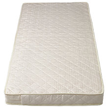 Buy John Lewis Pocket Sprung Large Cotbed Mattress, L132 x W77cm Online at johnlewis.com